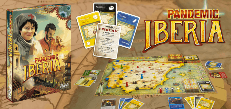 Pandemic: Iberia Board Game