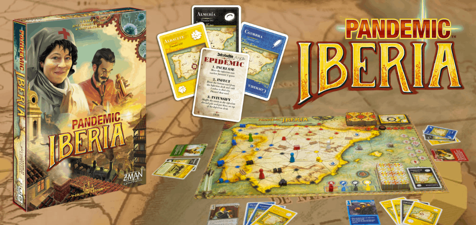 Pandemic: Iberia Board Game
