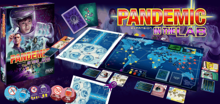 Pandemic Expansion: In the Lab Board Game