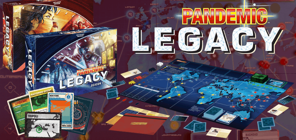 Pandemic Legacy: Season 1 Board Game