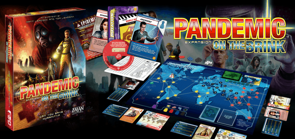 Pandemic Expansion: On the Brink Board Game