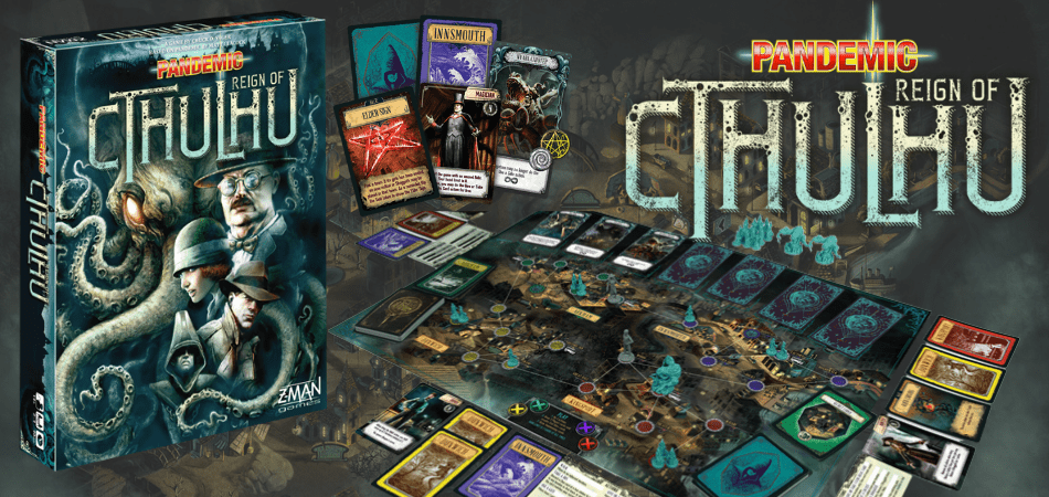 Pandemic: Reign of Cthulhu Board Game