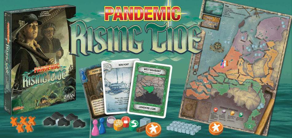 Pandemic: Rising Tide Board Game