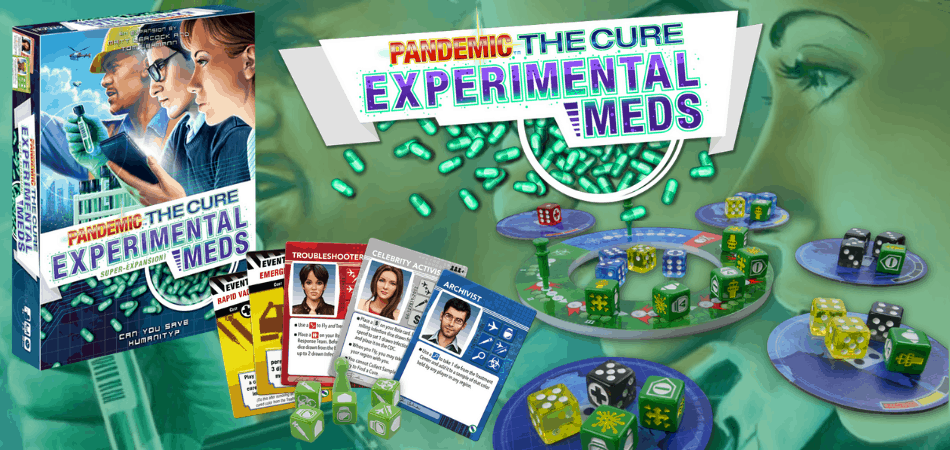 Pandemic: The Cure – Experimental Meds Board Game Expansion