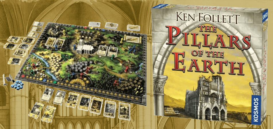 Pillars of the Earth Board Game