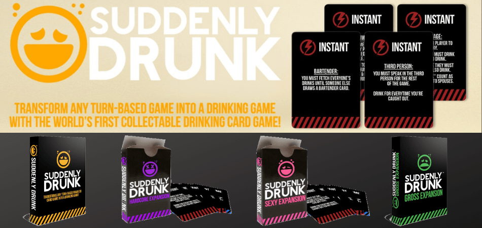 Suddenly Drunk Board Game