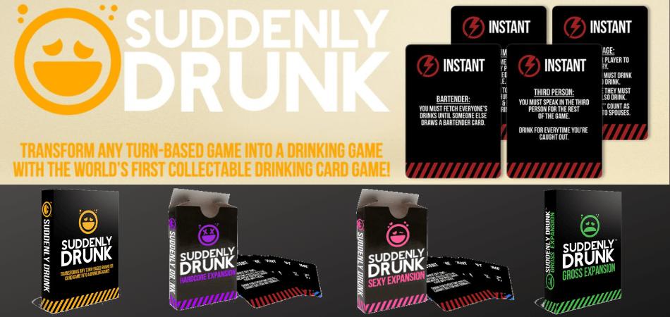 Suddenly Drunk Board Game