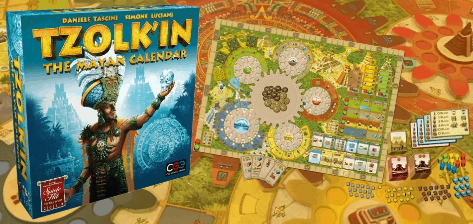 Tzolk'in: The Mayan Calendar Board Game