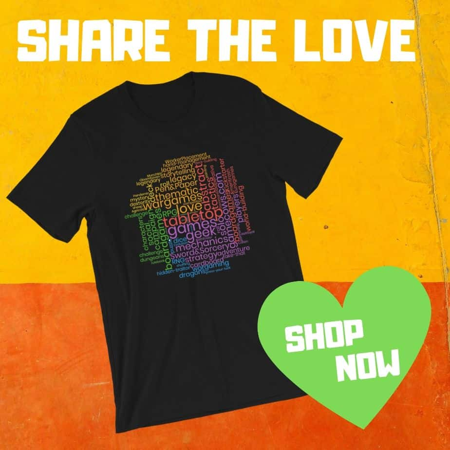 Board Game T-Shirt Promo