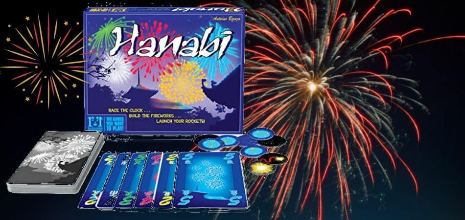 Hanabi Card Game Components