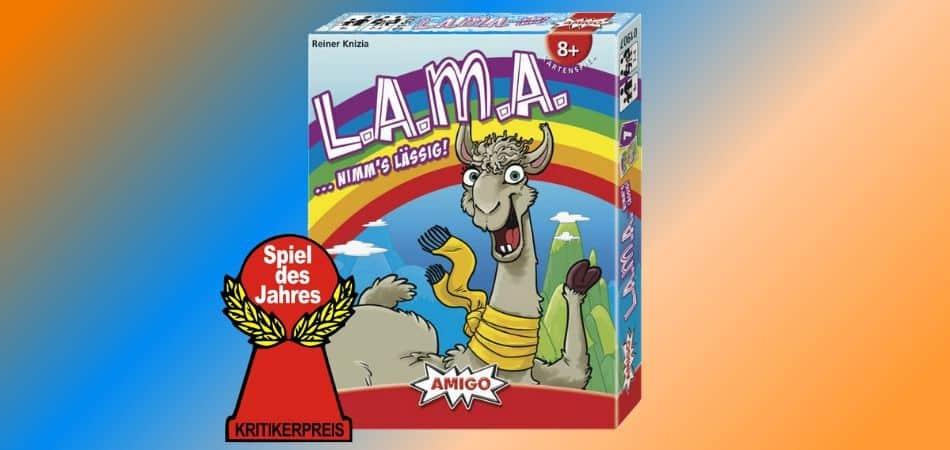 LAMA Board Game