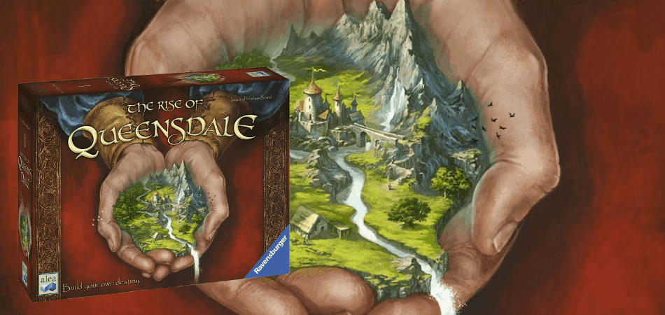 Rise of Queensdale Legacy Board Game