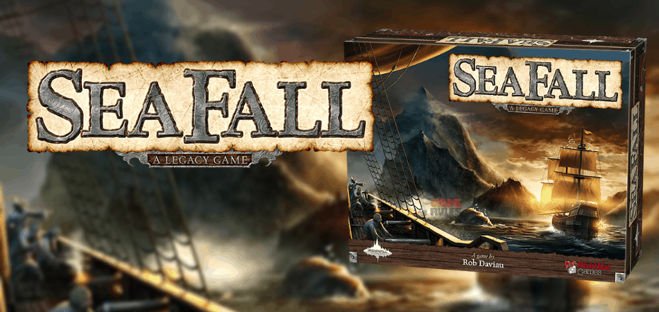 Seafall Legacy Board Game