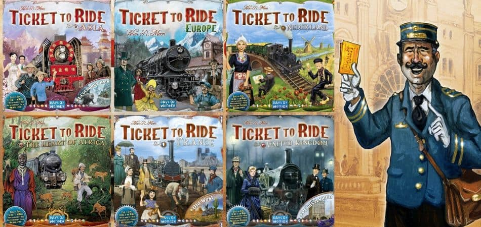 Ticket to Ride Board Game Expansions