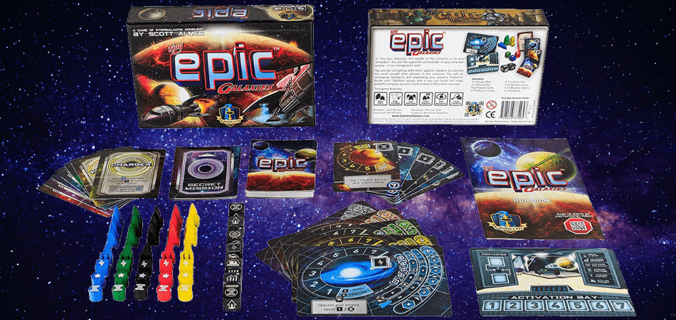 Tiny Epic Galaxies Board Game