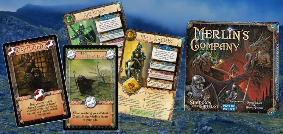 Merlin's Company Board Game