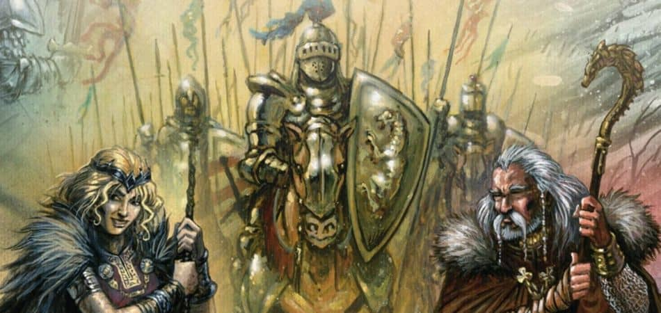 Shadows Over Camelot Board Game Art