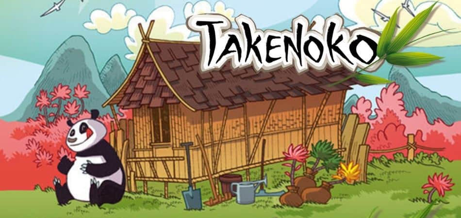 Takenoko Board Game Art