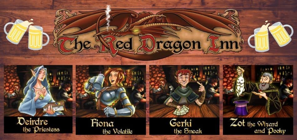 The Red Dragon Inn Board Game