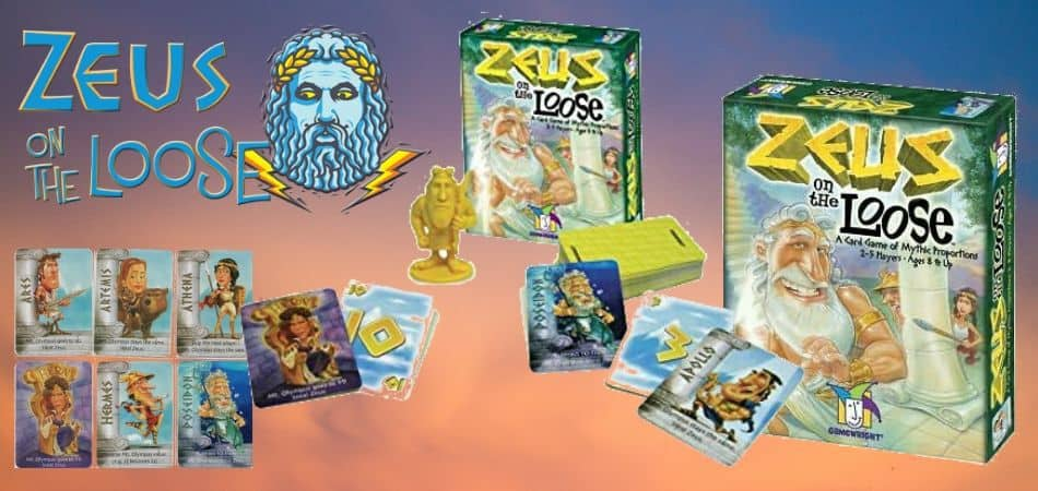 Zeus on the Loose Board Game