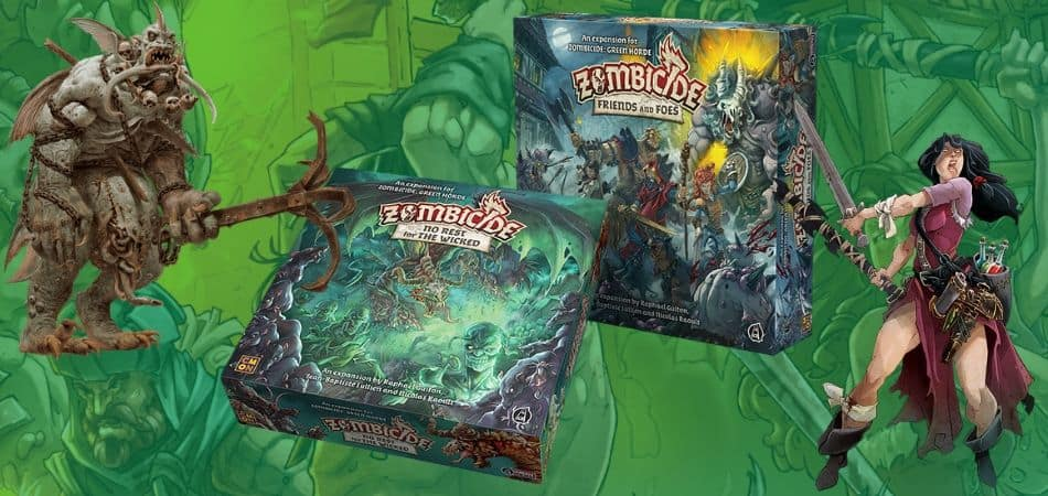 Zombicide: Green Horde Expansions