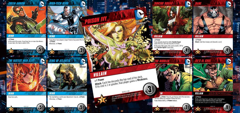 DC Comics Deckbuilding Game Heroes & Villains