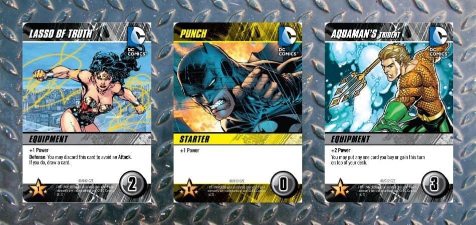 DC Comics Deckbuilding Game Equipment