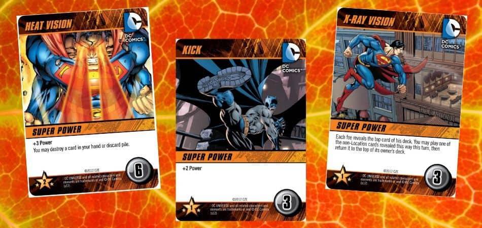 DC Comics Deckbuilding Game Superpowers