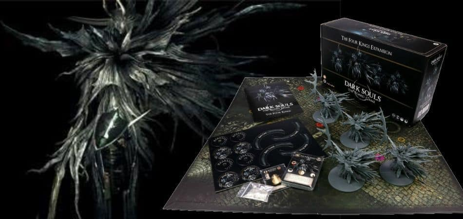 Dark Souls: The Board Game - The Four Kings Expansion