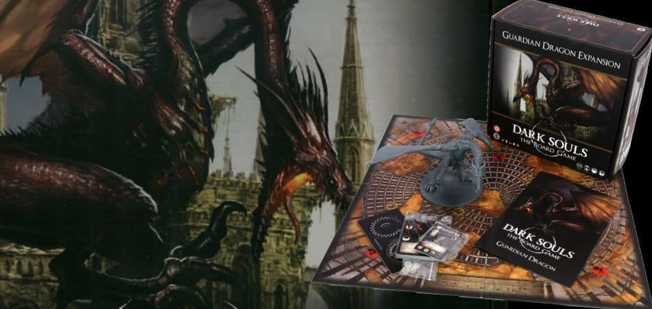 Dark Souls: The Board Game - Guardian Dragon Boss Expansion