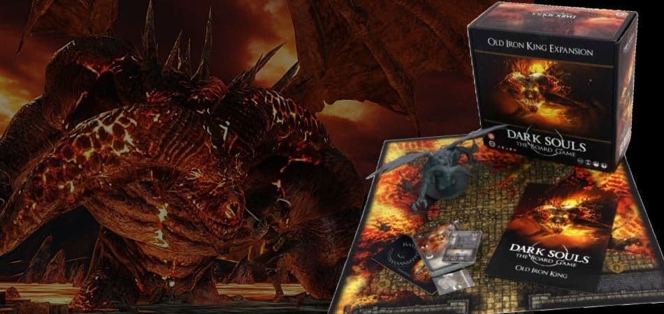 Dark Souls: The Board Game - Old Iron King Expansion