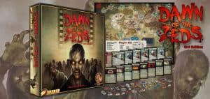 Dawn of the Zeds (Third Edition) Board Game