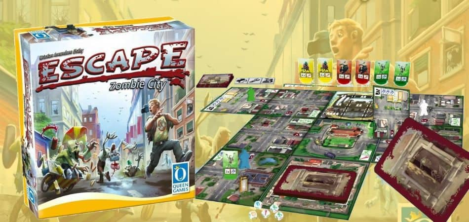 Escape: Zombie City Board Game