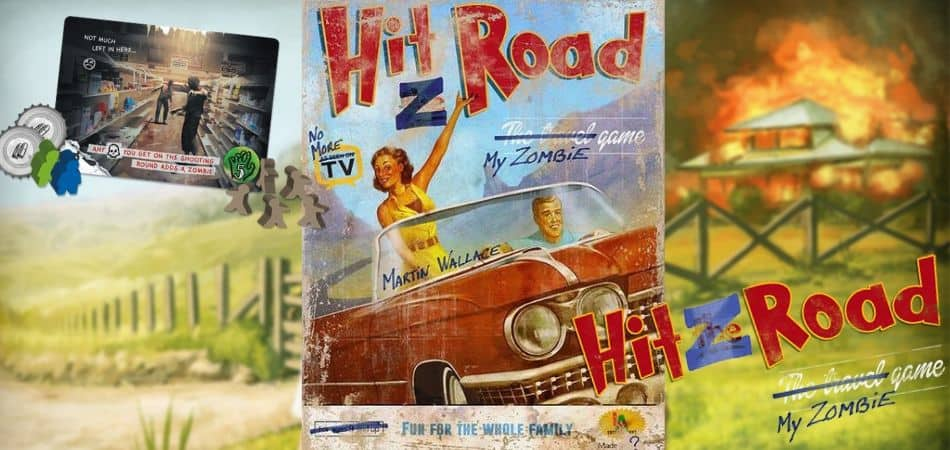 Hit Z Road Board Game