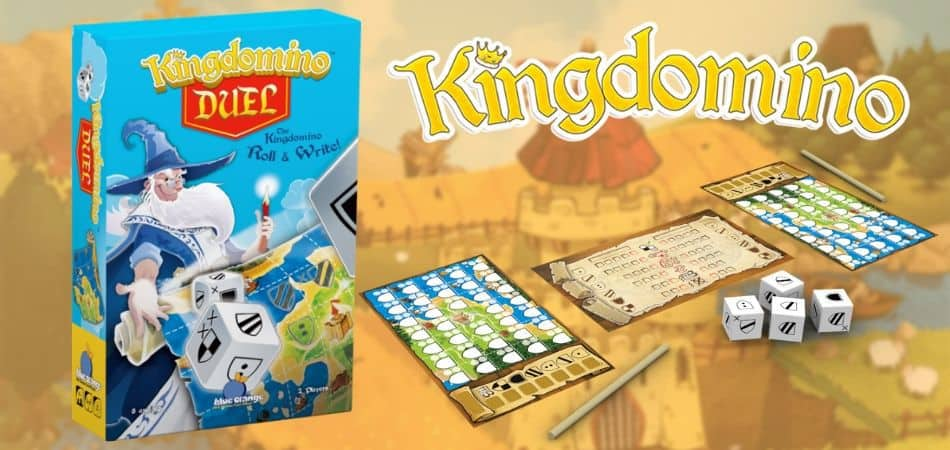 Kingdomino Duel Board Game