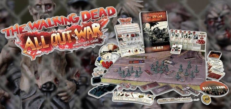 The Walking Dead: All Out War Board Game