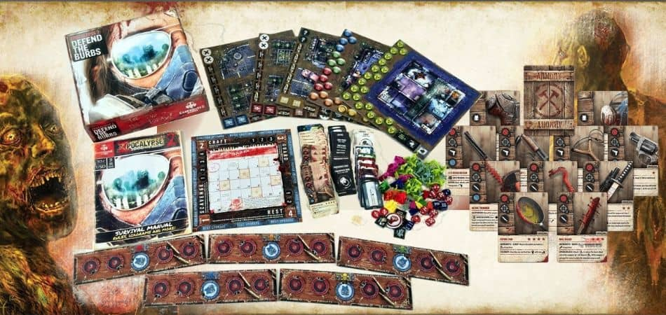 Zpocalypse 2: Defend the Burbs Board Game