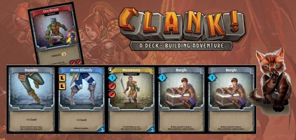 Clank! Board Game Action Cards