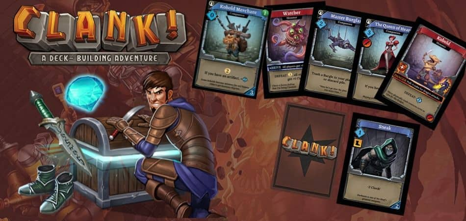 Clank! Board Game Cards