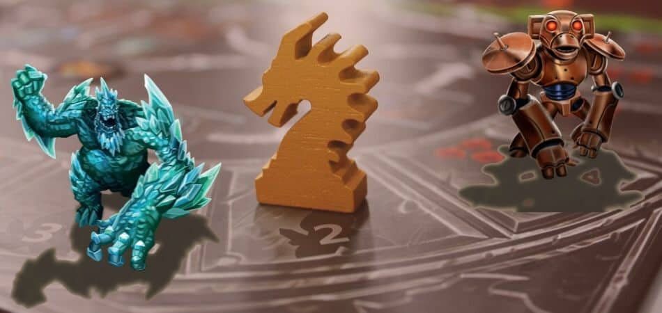Clank! Board Game Dragon Meeple