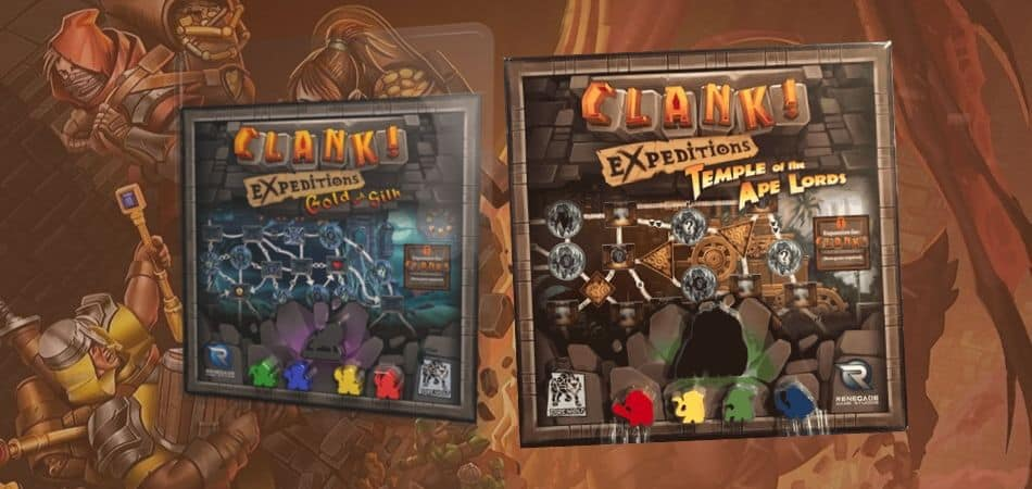 Clank! Expeditions Board Game Expansions