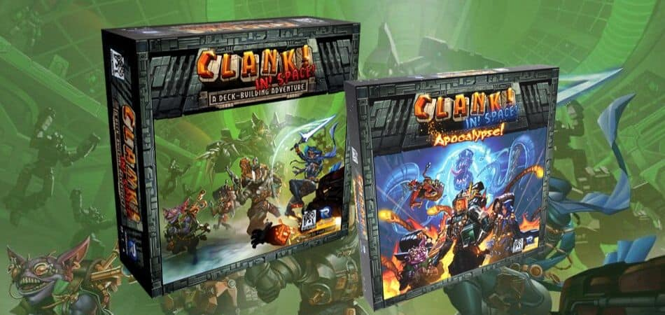 Clank! In Space! & Apocalypse Board Game Expansion