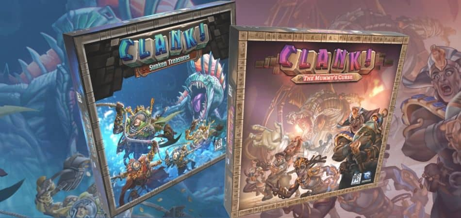 Clank! Sunken Treasures & Mummy's Curse Expansions