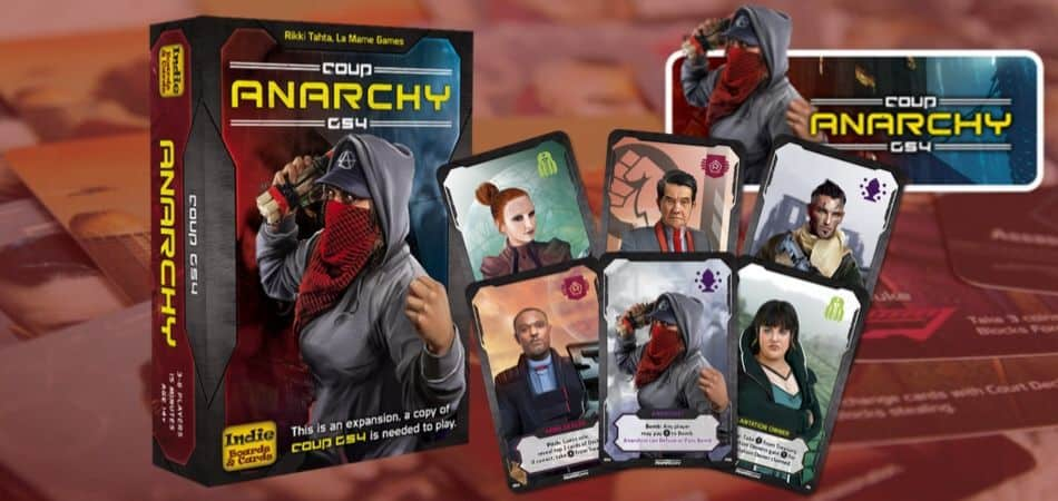 Coup Rebellion G54 Anarchy Card Game