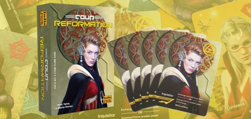 Coup Reformation Card Game