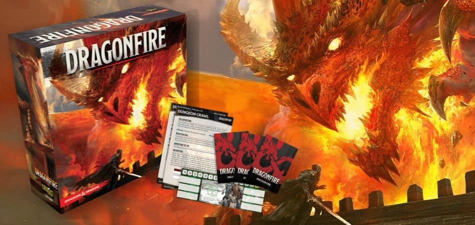 Dragonfire Board Game