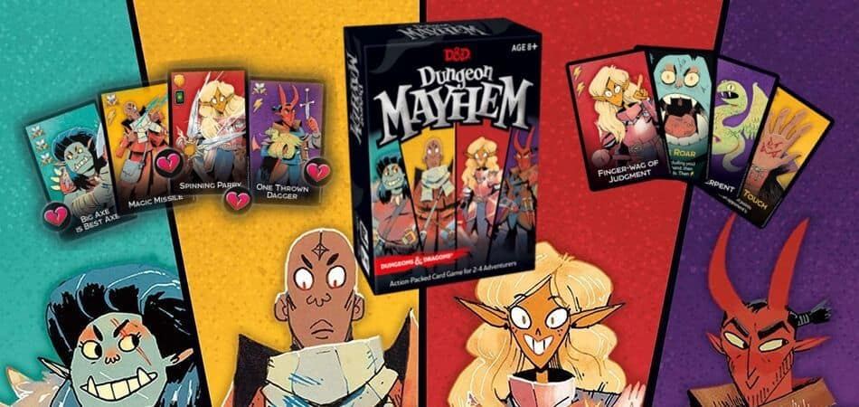 Dungeon Mayhem Board Game