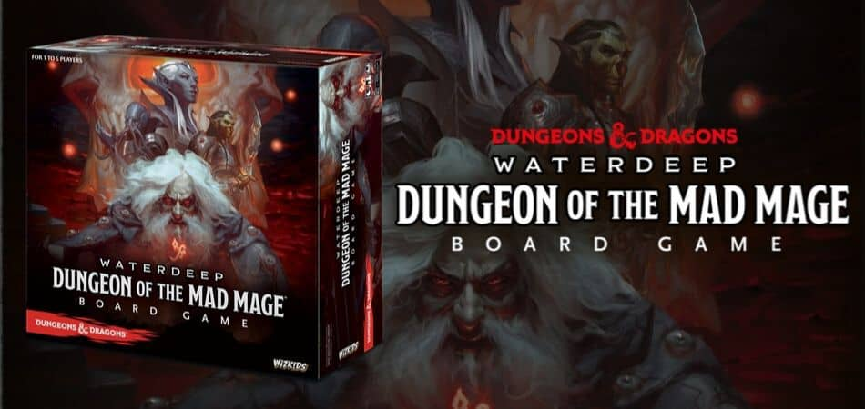 Dungeons & Dragons: Dungeons of the Mad Mage Board Game