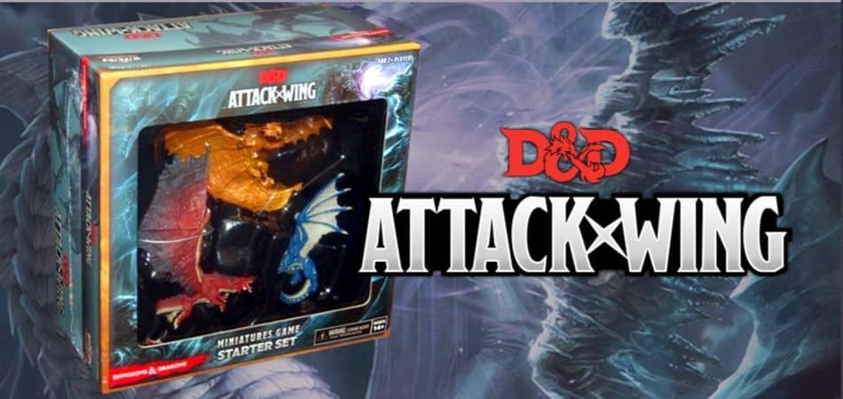 Dungeons & Dragons Attack Wing Board Game