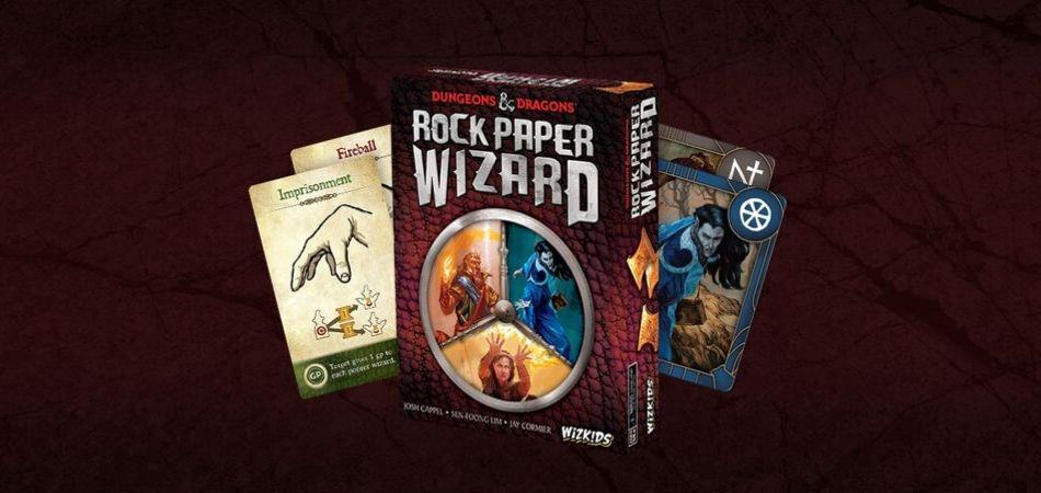 Rock Paper Wizard Board Game